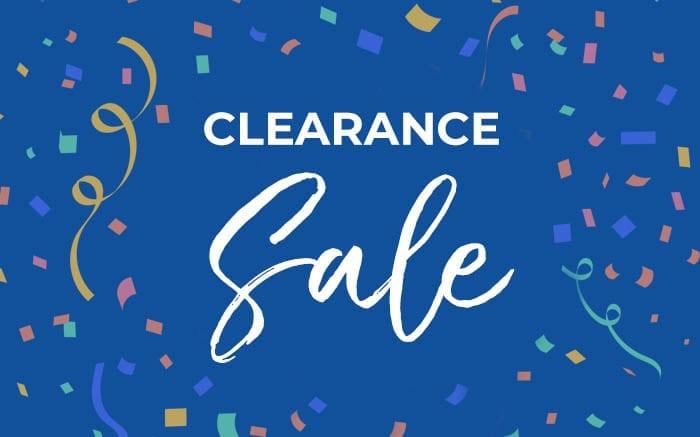 Clerance Sale
