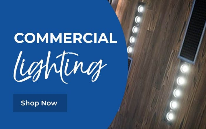 LED Commercial Lighting Banner